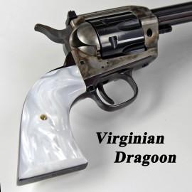 Virginian Dragoon White Pearl Kirinite™ Grips - Smooth