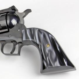 Virginian Dragoon Kirinite® Black Pearl Smooth Grips