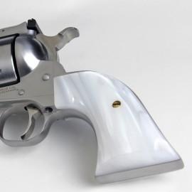 "Ruger ""Old"" Vaquero KIRINITE WHITE PEARL Kirinite™ Revolver Grips"