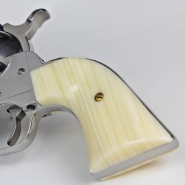 Ruger New Vaquero Gunfighter - Kirinite™ Ivory Grips