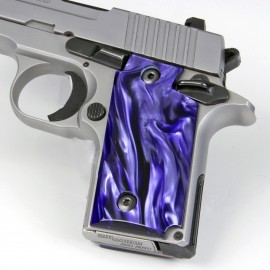 Sig Sauer P238 Kirinite® Wicked Purple Grips