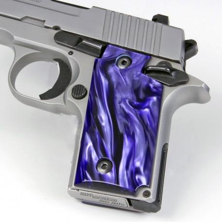 Sig Sauer P238 Kirinite® Wicked Purple Grips