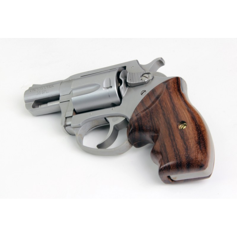 charter arms bulldog grips charter arms secret service rosewood revolver grips 2480