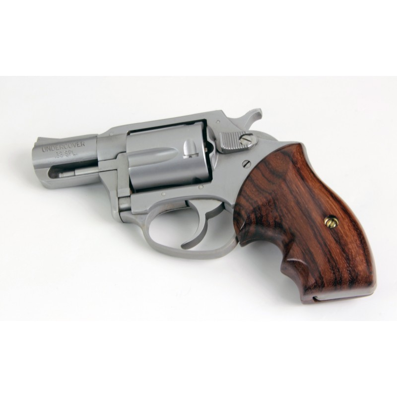 charter arms bulldog grips charter arms secret service rosewood revolver grips 4992
