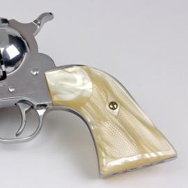 Ruger New Vaquero Kirinite® Antique Pearl Gunfighter Grips