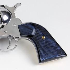 Ruger New Vaquero Kirinite® Black Magic Gunfighter Grips Checkered