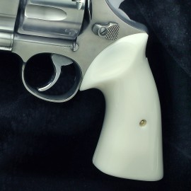 "S&W N Frame Round Butt Ivory Polymer ""Sledge Hammer"" Heritage Grips"