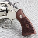 S&W N Frame Square Butt Walnut Heritage Panel Grips