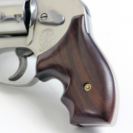 S&W J Round Frame Secret Service Rosewood Grips