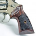 S&W K/L Frame Square Butt - Heritage Compact Checkered Revolver Grips