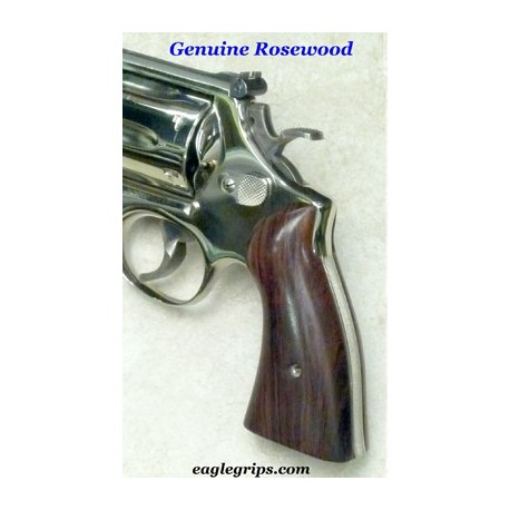 S&W Panel N Frame Square Butt Rosewood Grips