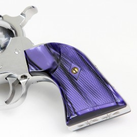 Ruger New Vaquero Kirinite® Wicked Purple Gunfighter Grips