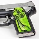 Kimber Micro 9 Toxic Green Kirinite® Grips