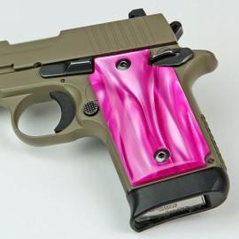 Kimber Micro 9 Atomic Pink Kirinite® Grips