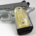Kimber Micro 9 Antique Pearl Kirinite® Grips
