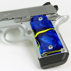 Kimber Micro 9 Royal Blue Kirinite® Grips