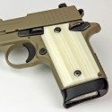 Sig Sauer P238 Kirinite® Ivory Pistol Grips