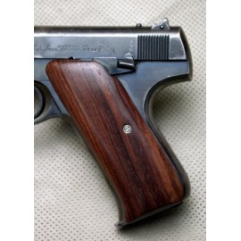Colt Woodsman First Generation Rosewood Grips Smooth
