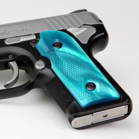 Kimber Micro 9 Aqua Marine Kirinite® Grips