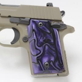 Sig Sauer P238 Kirinite® Purple Haze Grips