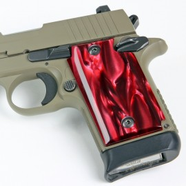 Sig Sauer P238 Kirinite® Red Pearl Grips