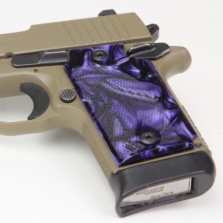 Sig Sauer P938 Kirinite Purple Haze Grips