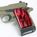RED PEARL Kirinite® Pistol Grips for Sig Sauer P938
