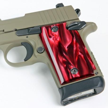 Sig Sauer P938 Red Pearl Grips Kirinite™