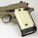 Sig Sauer P938 Kirinite® Ivory Pistol Grips