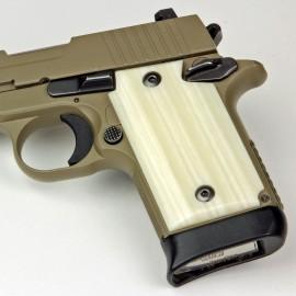 Sig Sauer P938 Kirinite Ivory Pistol Grips