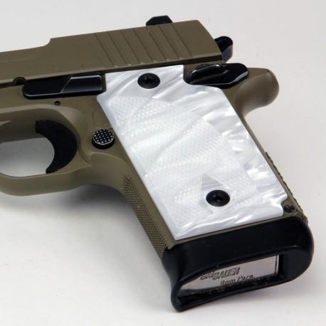 Sig Sauer P938 Kirinite® White Pearl Grips