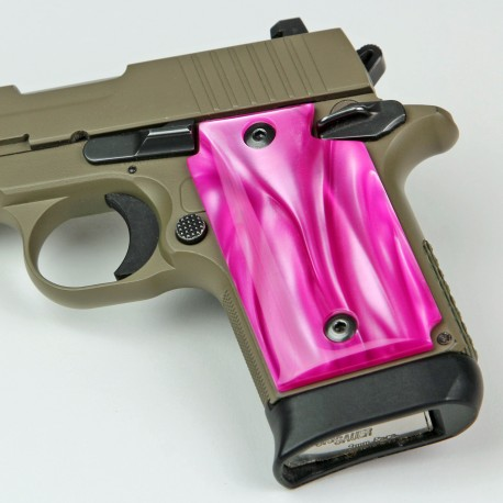 Sig Sauer P938 Kirinite® Atomic Pink Grips
