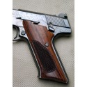 Colt Woodsman 3rd Gen - GENUINE ROSEWOOD Grips - CHECKERED