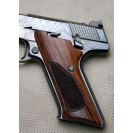 Colt Woodsman 3rd. Generation Rosewood Grips Checkered