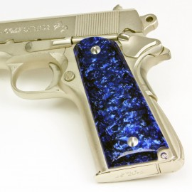 Colt 1911 Kirinite™ ARCTIC BLUE Grips