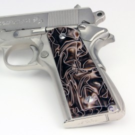 Kirinite™ DESERT CAMO Grips for the Colt 1911