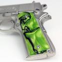 1911 Kirinite® Toxic Green Grips