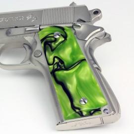 Kirinite™ TOXIC GREEN Grips for the 1911