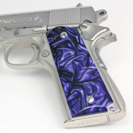 1911 Kirinite® Purple Haze Grips