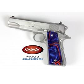Kirinite™ VIVID BLUE Grips for the Colt 1911