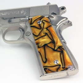 1911 Kirinite® Liquid Gold Grips