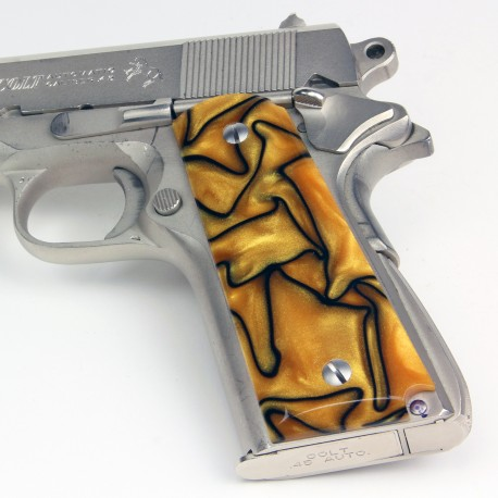 Colt 1911 Liquid Gold Kirinite™ Grips