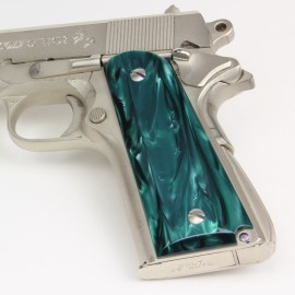 1911 - Kirinite® Emerald Bay Pistol Grips