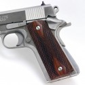 1911 Rosewood Double Diamond Checkered Grips