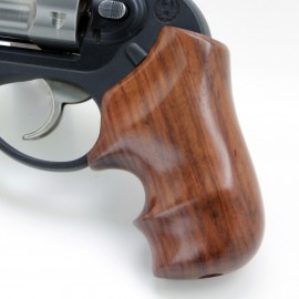 Ruger LCR GENUINE ROSEWOOD Secret Service Grips - SMOOTH