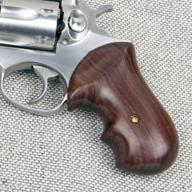 Ruger GP100 & Super Redhawk GENUINE ROSEWOOD Secret Service Grips - SMOOTH