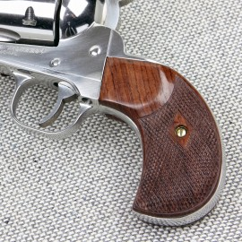 Ruger Birdshead GENUINE ROSEWOOD Gunfighter Grips - CHECKERED