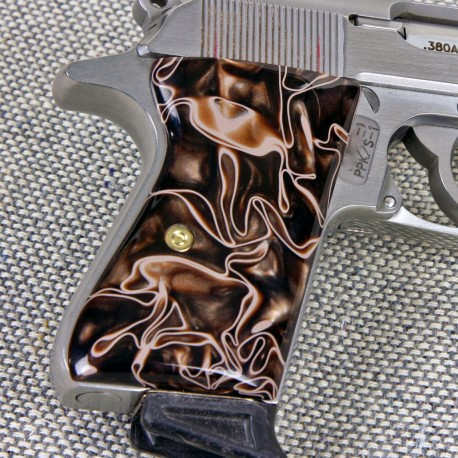 Walther PPK/S by Interarms Desert Camo Grips