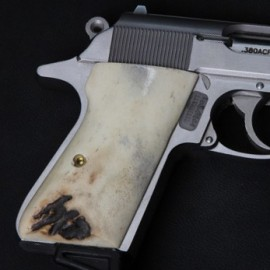 Walther Interarms PPK/S Sambar Stag Grips