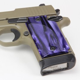 Walther PPK/S by Interarms Kirinite® Wicked Purple Pistol Grips